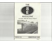 8E Magazine No 22 Christmas 1986