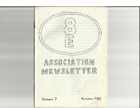 8E Newsletter No 7 Autumn1982