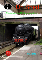 On Shed Journal – Winter 2018