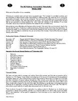 8E Newsletter – 2009 (Winter)