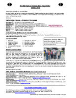 8E Newsletter – 2010 (Winter)