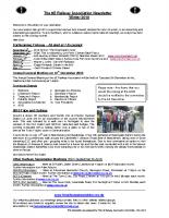 8E Newsletter – 2010 (Winter)
