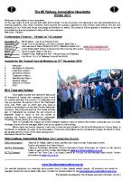 8E Newsletter – 2011 (Winter)