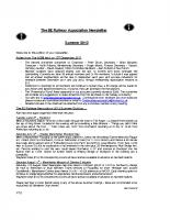 8E Newsletter – 2012 (Summer)