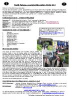 8E Newsletter – 2012 (Winter)
